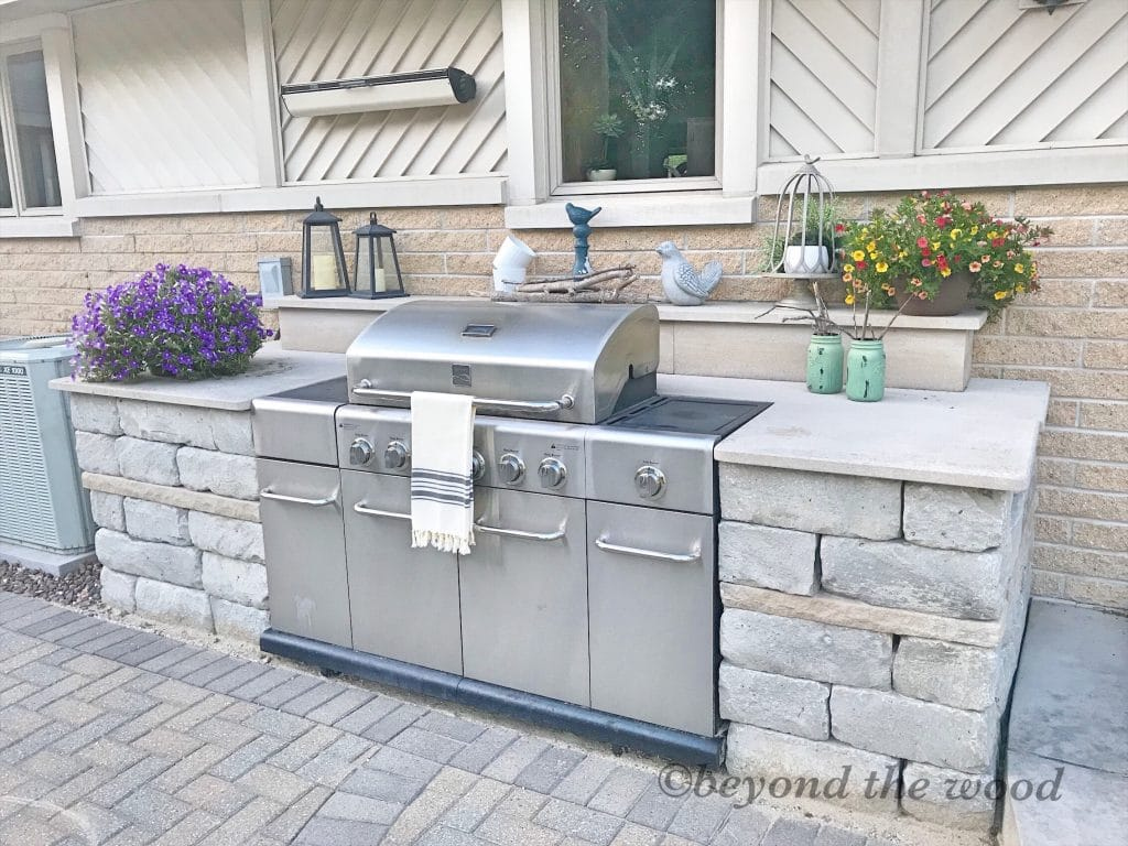 Outdoor Grill Surround