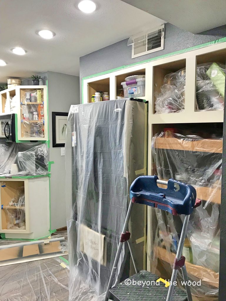 painting cabinets