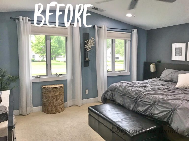 Day 1 Bedroom Makeover