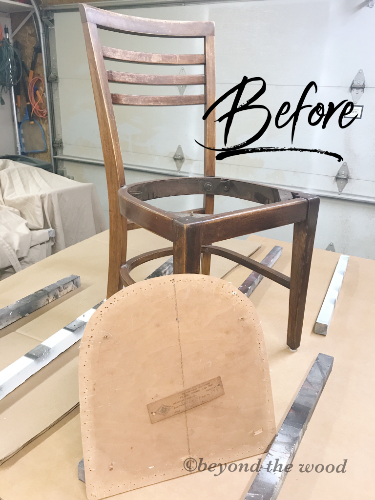 antique chair beyond the wood diy