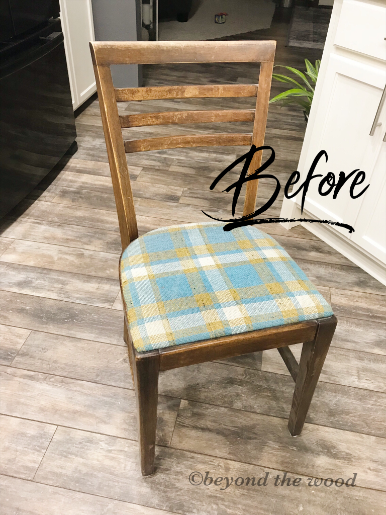 antique chair beyond the wood day 3 bedroom makeover