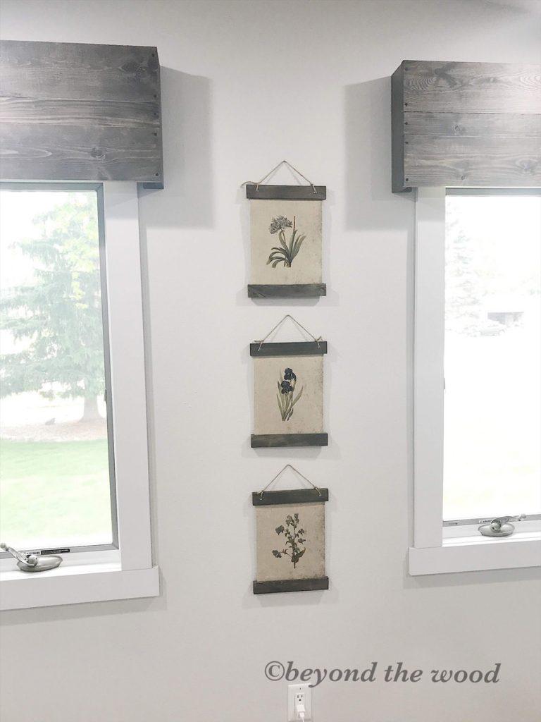 Beyond the Wood DIY handmade home decor botanical-print-project4