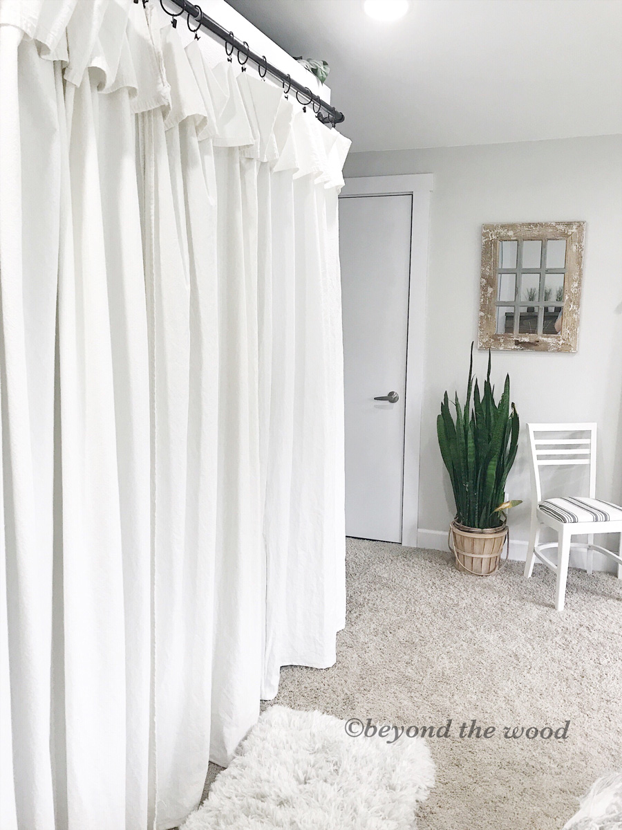 Bleaching Drop Cloth Curtains Beyond The Wood Handmade