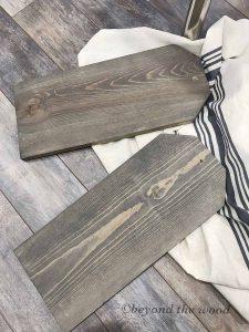 DIY Wood Wall Pocket