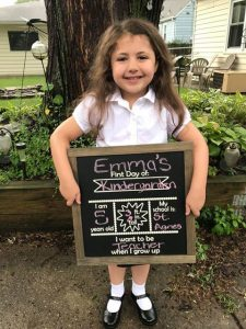 Beyond the Wood Back to school chalkboard