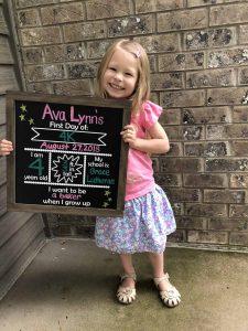Beyond the Wood Back to school chalkboard