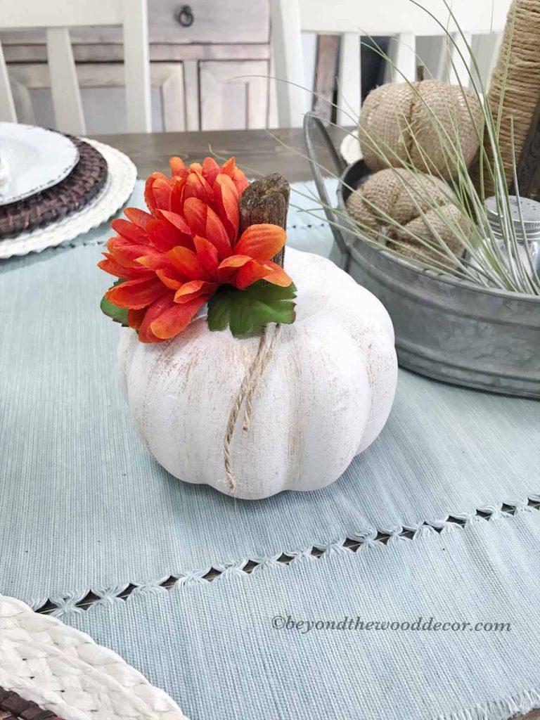 Beyond the Wood DIY pumpkins