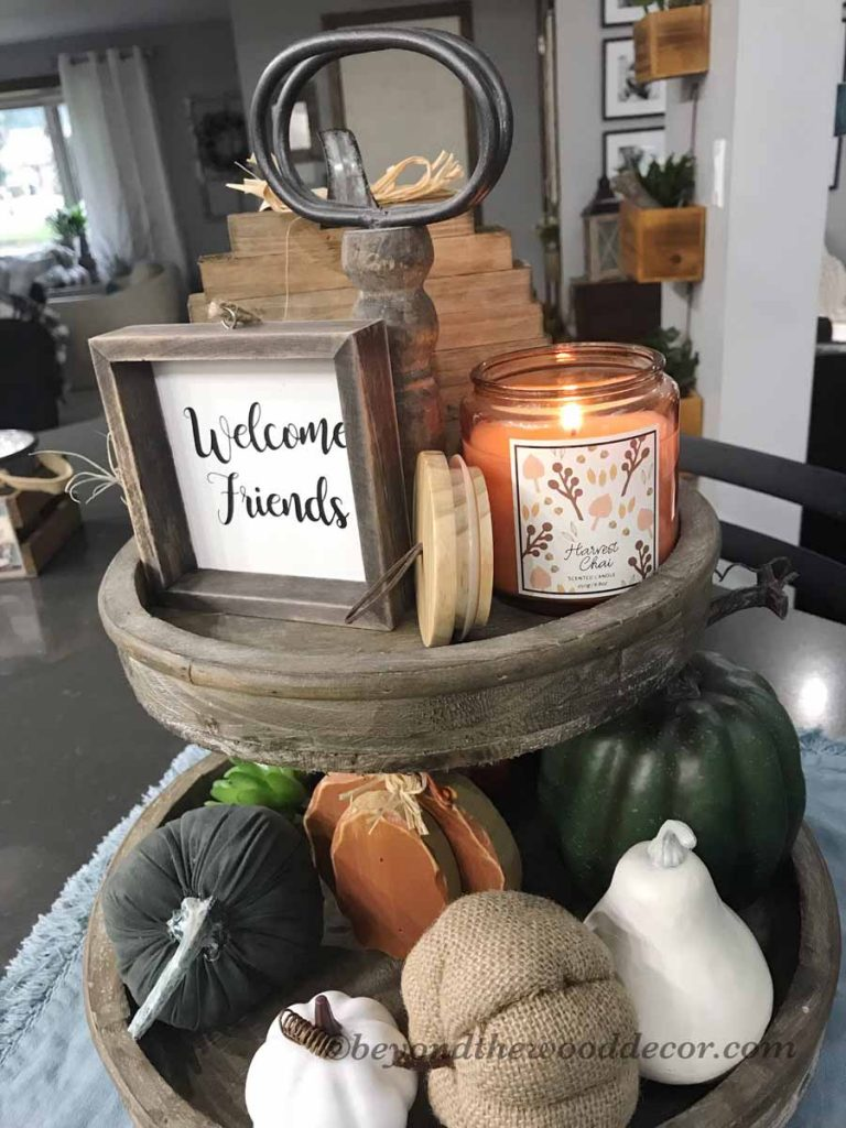 Beyond the Wood Fall decor