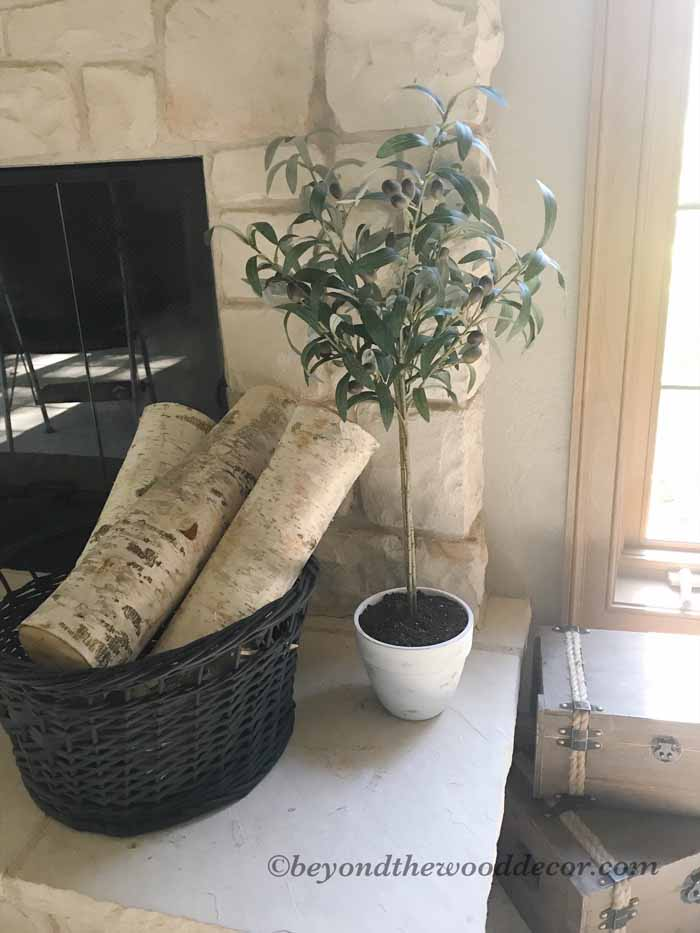 Beyond the Wood DIY Olive Tree Topiary
