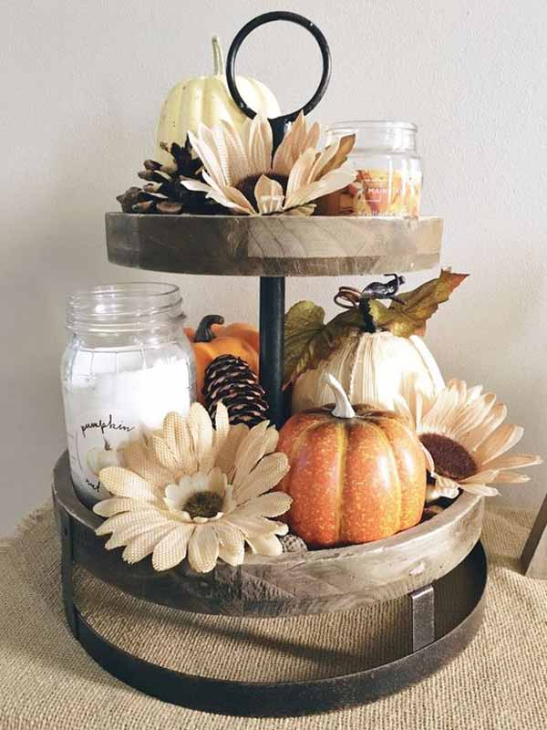 Beyond the Wood Styling a tiered tray
