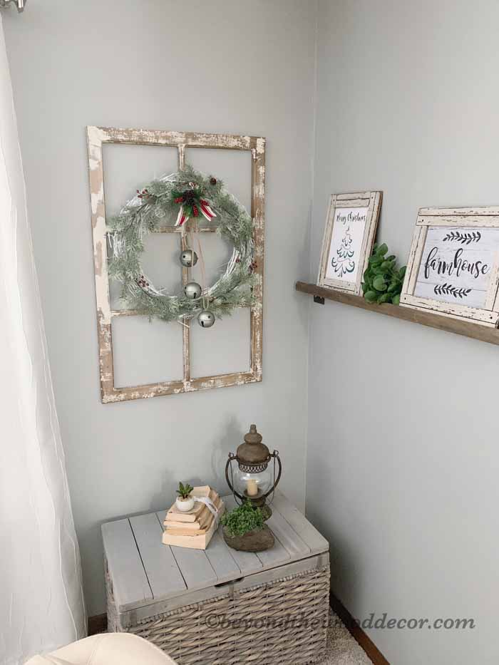 Beyond the Wood DIY Christmas Wreath