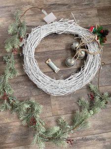 Fun with food and Christmas Wreath DIY