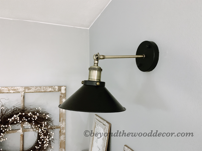 New Farmhouse Style Wall Light
