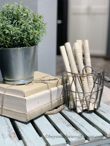 DIY Book Pages For Decor