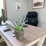 Beyond the Wood Office Makeover
